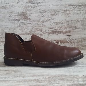Vintage Leather Chelsea Boots - Made in USA